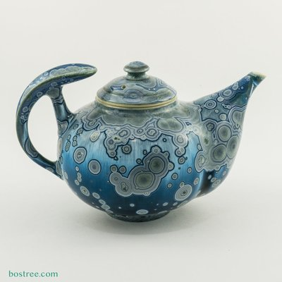 Crystalline Glaze Tea Pot by Andy Boswell #ABT0009
