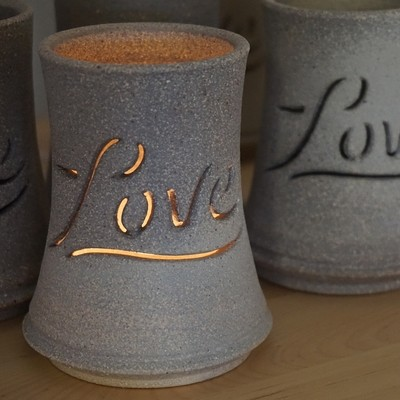 Love Tea Light Luminary