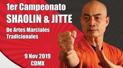 Inscripción Campeonato Shaolin 2019