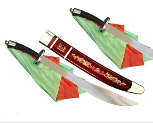 Sables Dobles de Wushu con funda flexibles 00015