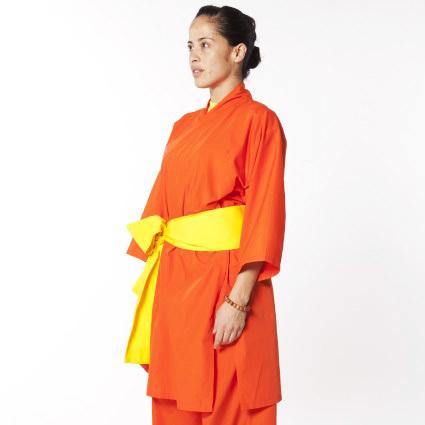 Uniforme Shaolin Kung Fu Naranja 00024