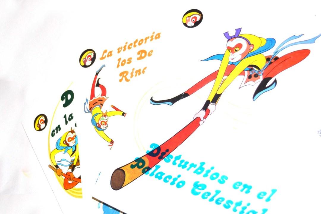 Libro  cuentos del Rey mono. 00069