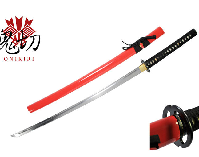 Katana Red Musashi Onikiri