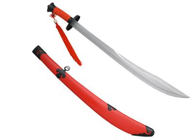 Sable de Kung Fu Ox Tail Rojo