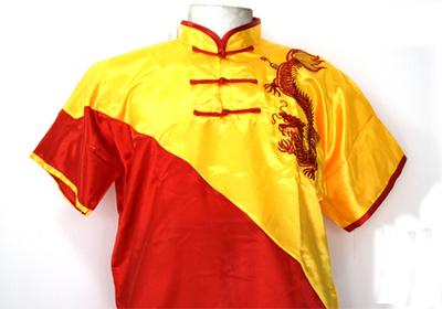 Uniforme de Wushu Chang Chuan Rojo/Amarillo