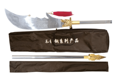 Kwan dao  (Guan Dao) acero inoxidable.