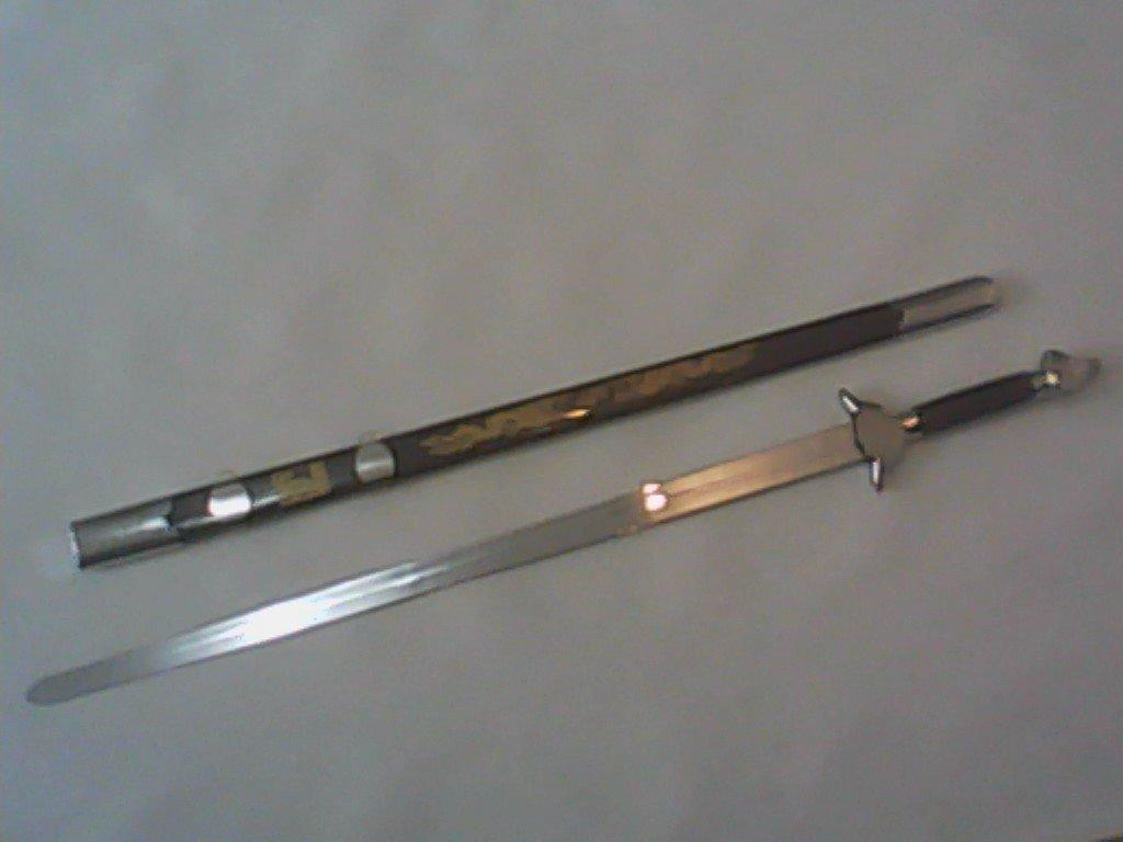 Espada de Tai Chi  Recta Firme.