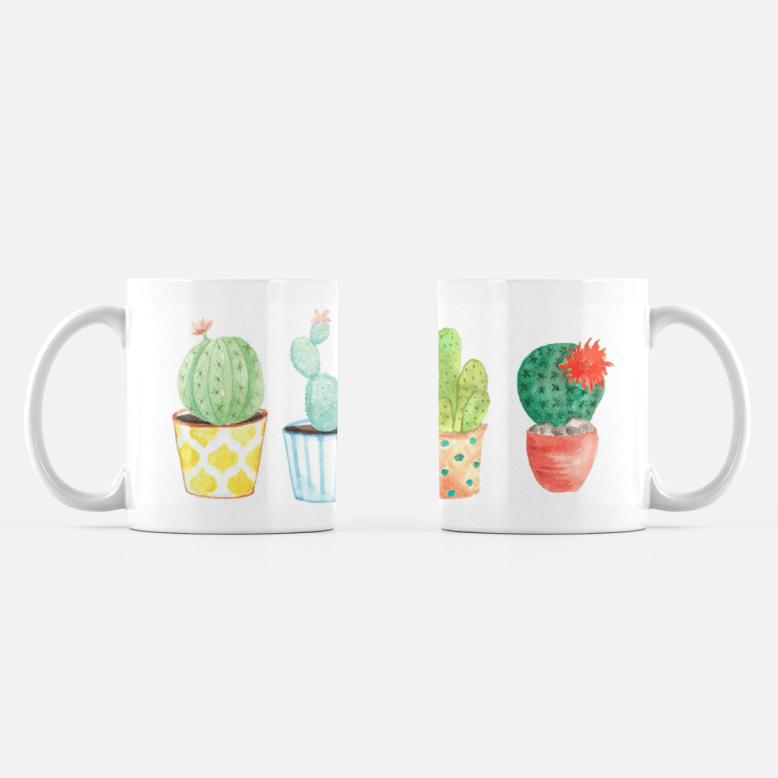 Four Cacti Coffee Mug 00065
