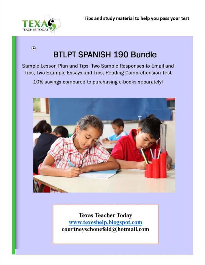 BTLPT Spanish Bundle -  Includes all BTLPT Products at 10% Discount