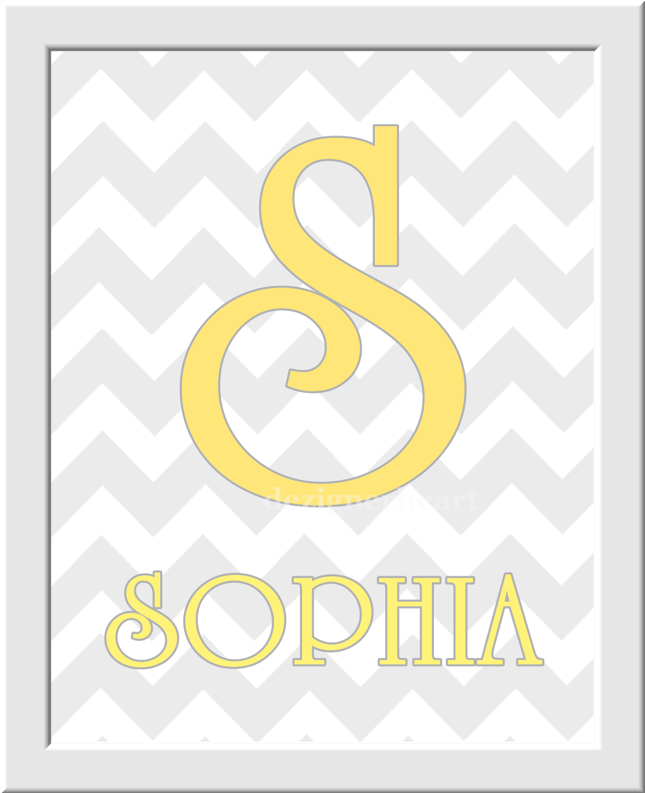 Last Name Personalized Canvas Prints