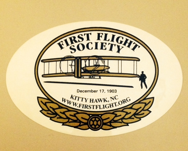 First Flight Society Sticker 0008