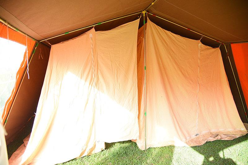 (価格見直) アルカンシェル 4人用 使用感全くなしの美品  ヴィンテージ幕 フレームテント arcanciel