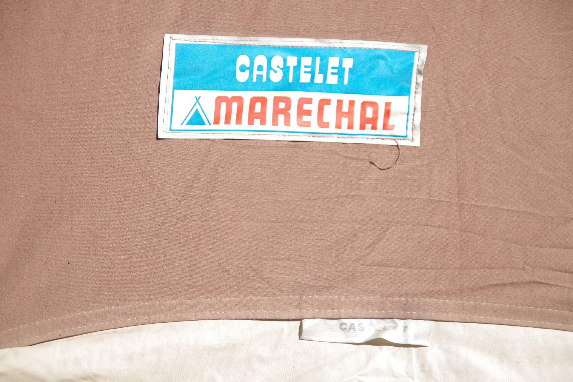 マルシャル カステレ 2人用 リッジテント 美品 ヴィンテージ幕 フレームテント Marechal