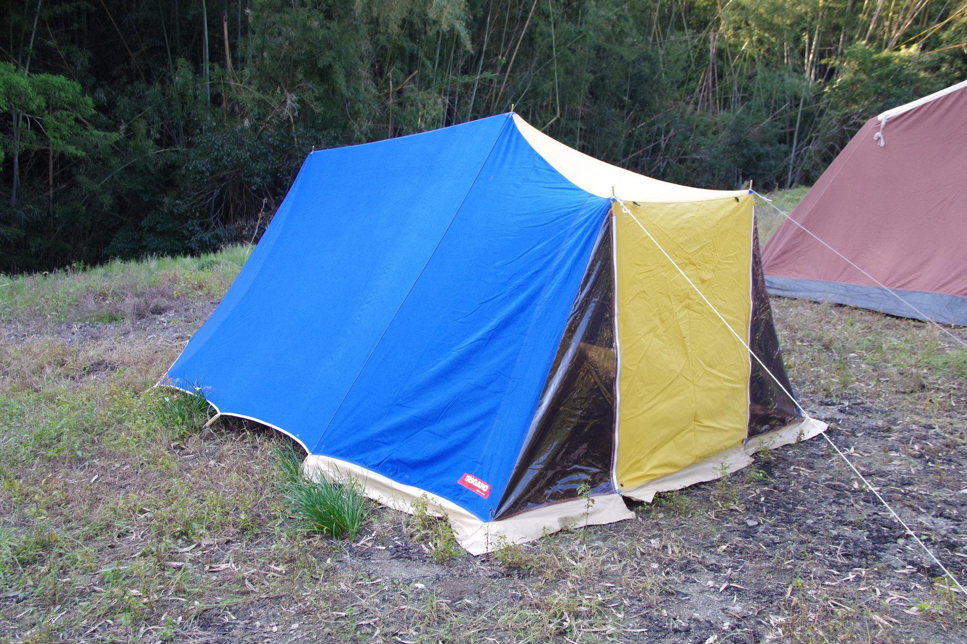 トリガノ リッジタイプ ウミウシ デッドストック コットンテント ソロキャンプ TRIGANO