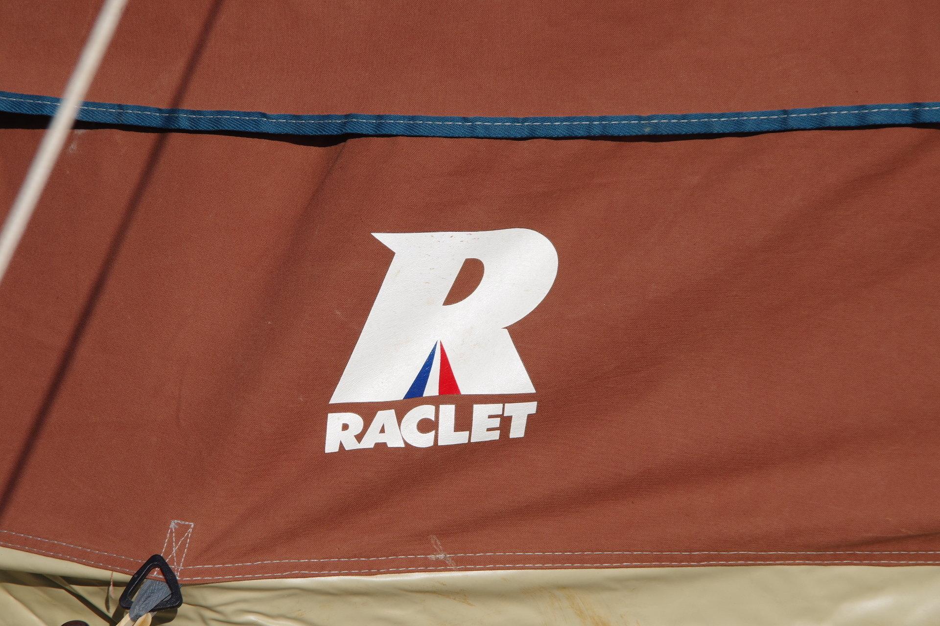 ラクレ フルコットン ピラミッドタイプ 4人用 ヴィンテージ幕 フレームテント Racretイプ 4人用