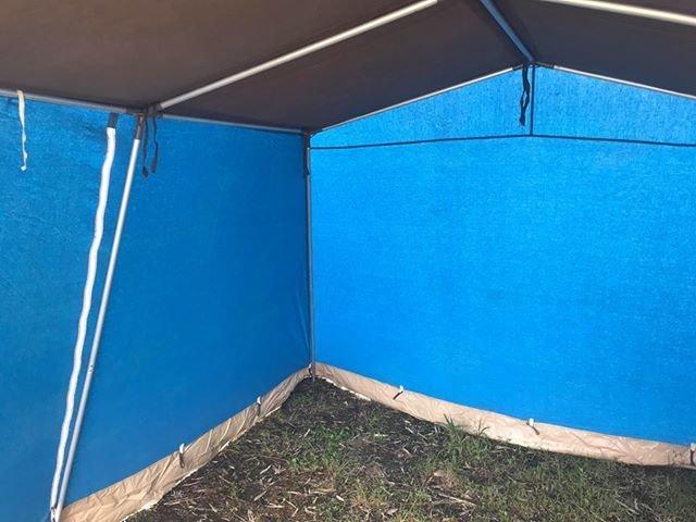 ラクレ リッツ 5 ブルー インナーカーテンなし RACLET RITZ5