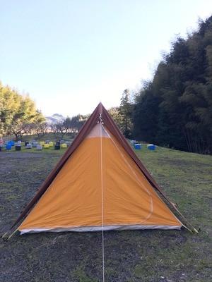 マルシャル スクータリスト ブラウン 2-3人用 美品 コットンテント ソロキャンプ Marechal