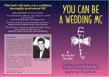 cover you can be a wedding mc front back