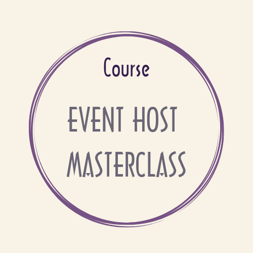 course EVENT HOST Masterclass Weddings