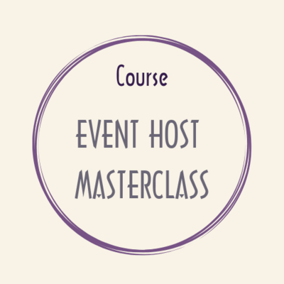 course EVENT HOST Masterclass Weddings