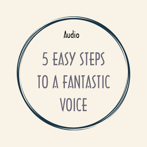 audio + video + ebook 5 EASY STEPS TO A FANTASTIC VOICE audio speaking fantasticvoice 5steps