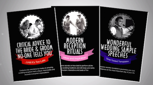 wedding planning covers 3x planning tools speeches templates runsheet