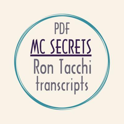 eBook PDF mc corporate MC SECRETS Ron Tacchi video transcriptions