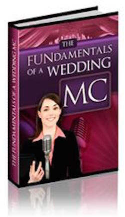 the BASICS of how be a wedding emcee