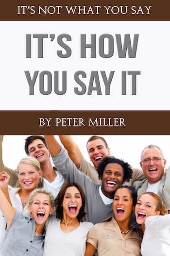 eBook PDF public speaking 'ITS NOT WHAT YOU SAY - ITS HOW YOU SAY IT' develop your voice into an asset and sound as good a you look ebook pdf speaking voice 'ITS NOT WHAT YOU SAY