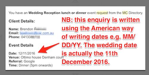 MC Directory Renewal Premium American calendar