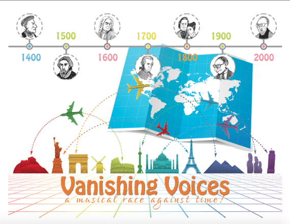 Vanishing Voices: a musical race against time! 20160901