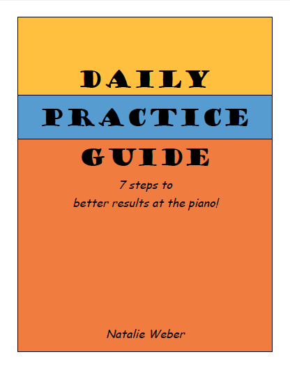 Daily Practice Guide: 7 steps to better results at the piano! 20170614