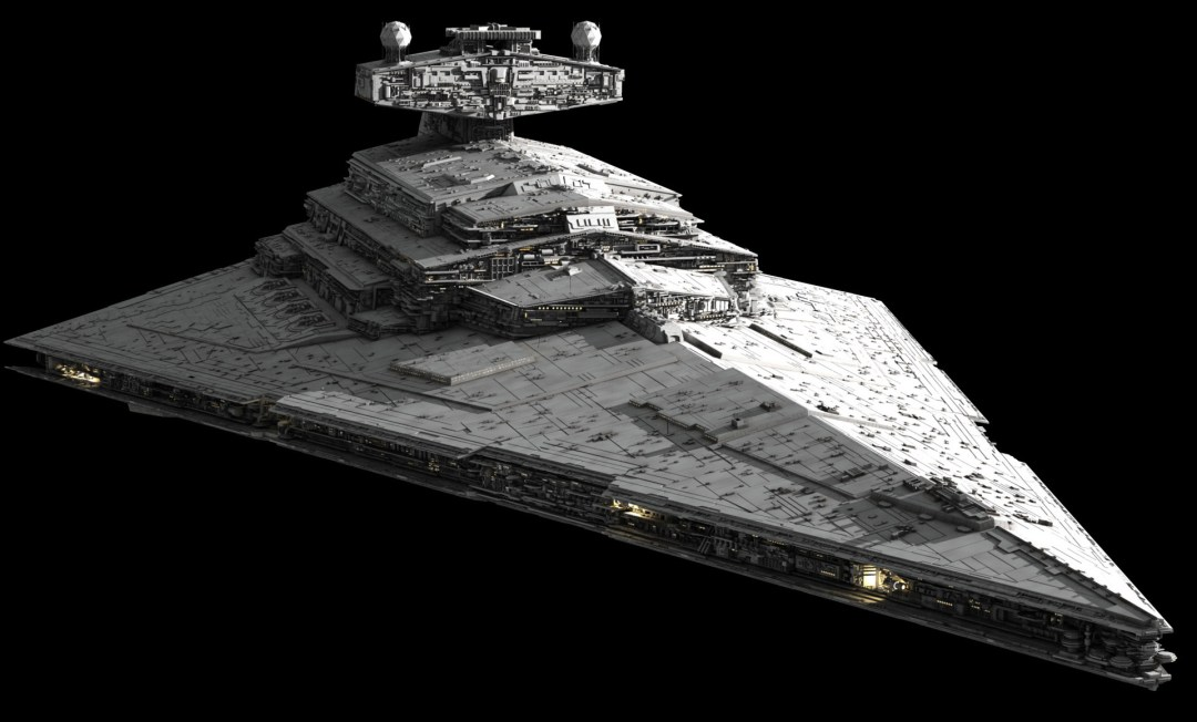 Imperial Star Destroyer - Late model good condition 00023