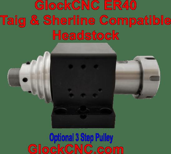 Sherline Taig Upgrade Spindle ER40 Headstock