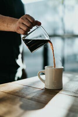 RS&H Roasts Bourbon Barrel Aged Coffee Half Barrel