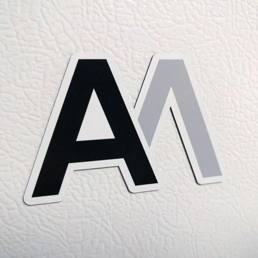AM Logo Magnet