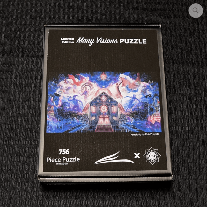 Many Visions - Astralship 756 Piece Puzzle