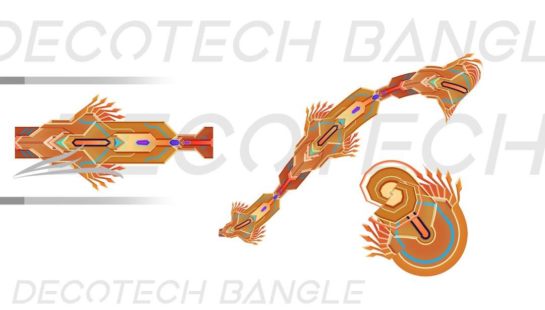 Deco Tech Bangle