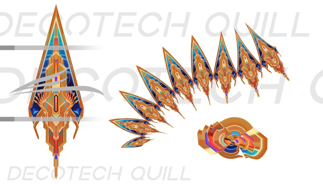 Deco Tech Quill