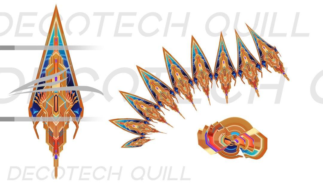 Deco Tech Quill