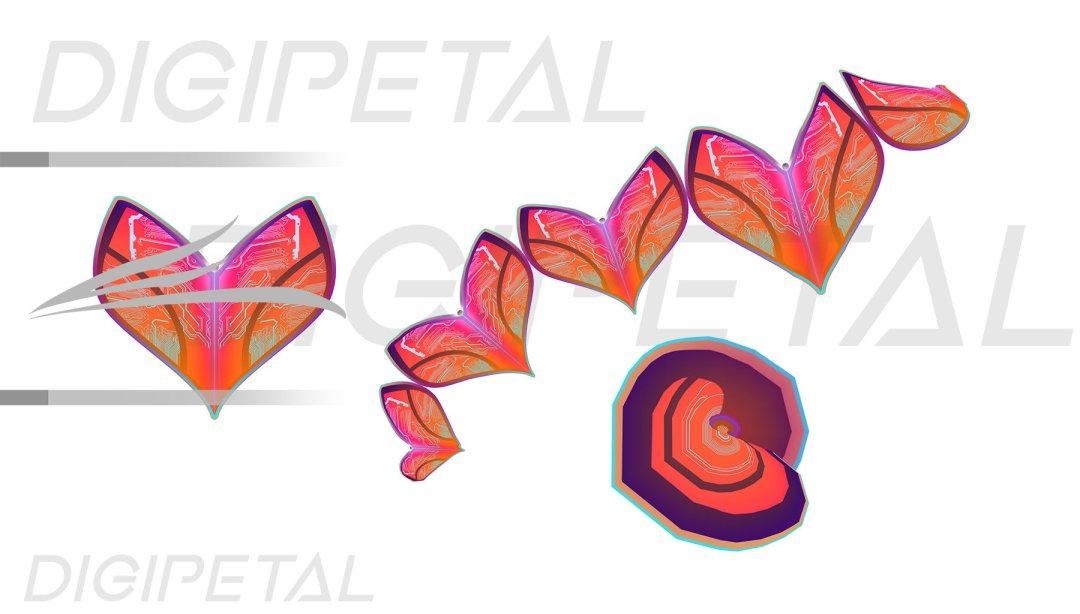 Digipetal