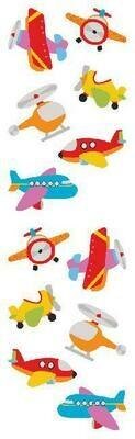 Planes & Spaceships Stickers
