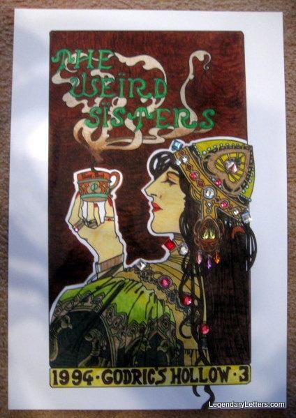 Wizarding Band Concert Poster elf1091