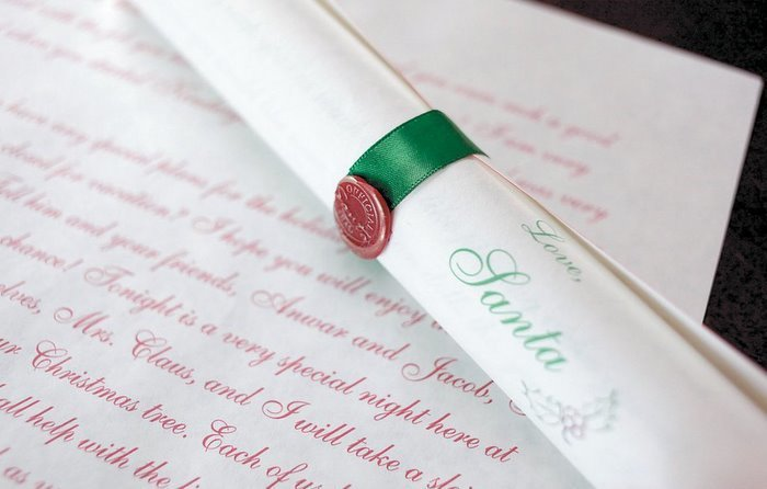 Deluxe Scroll from Santa