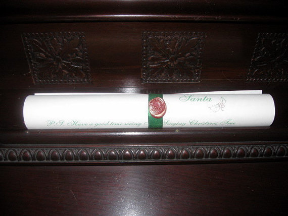 Deluxe Scroll from Santa Claus