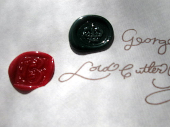 Red & Green wax seals