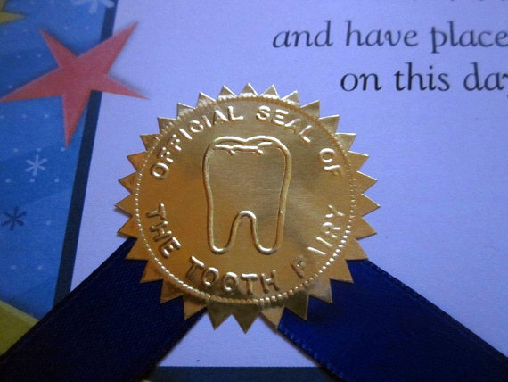 Tooth Fairy official seal