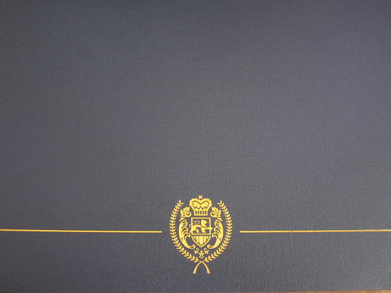 Twilight Forks High School Diploma cover