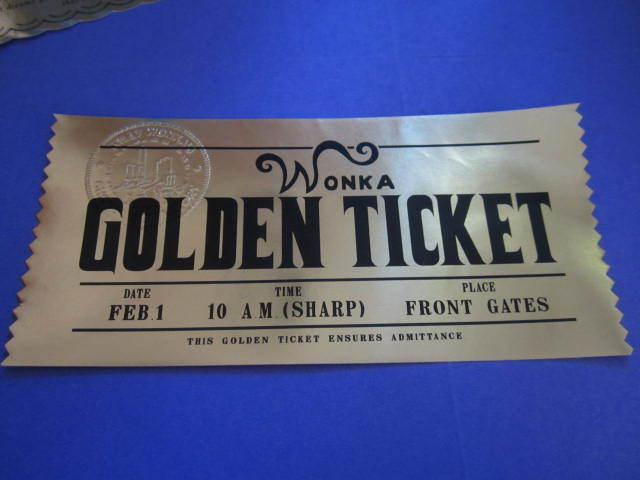 Modern Golden Ticket elf1099