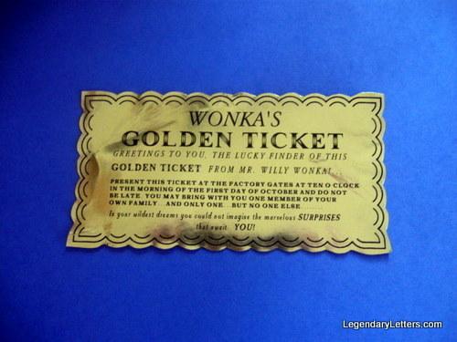 Classic Golden Ticket elf1093